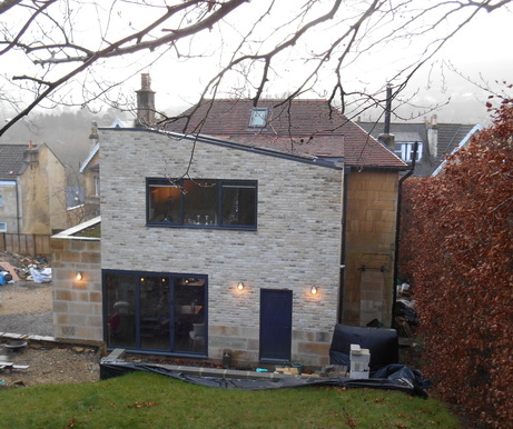 Private house extension, Bath