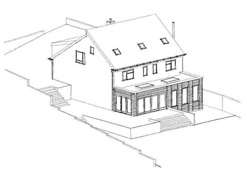 Private House Extension, Calne